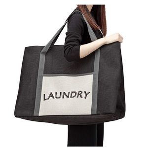 Large Laundry Tote Bag